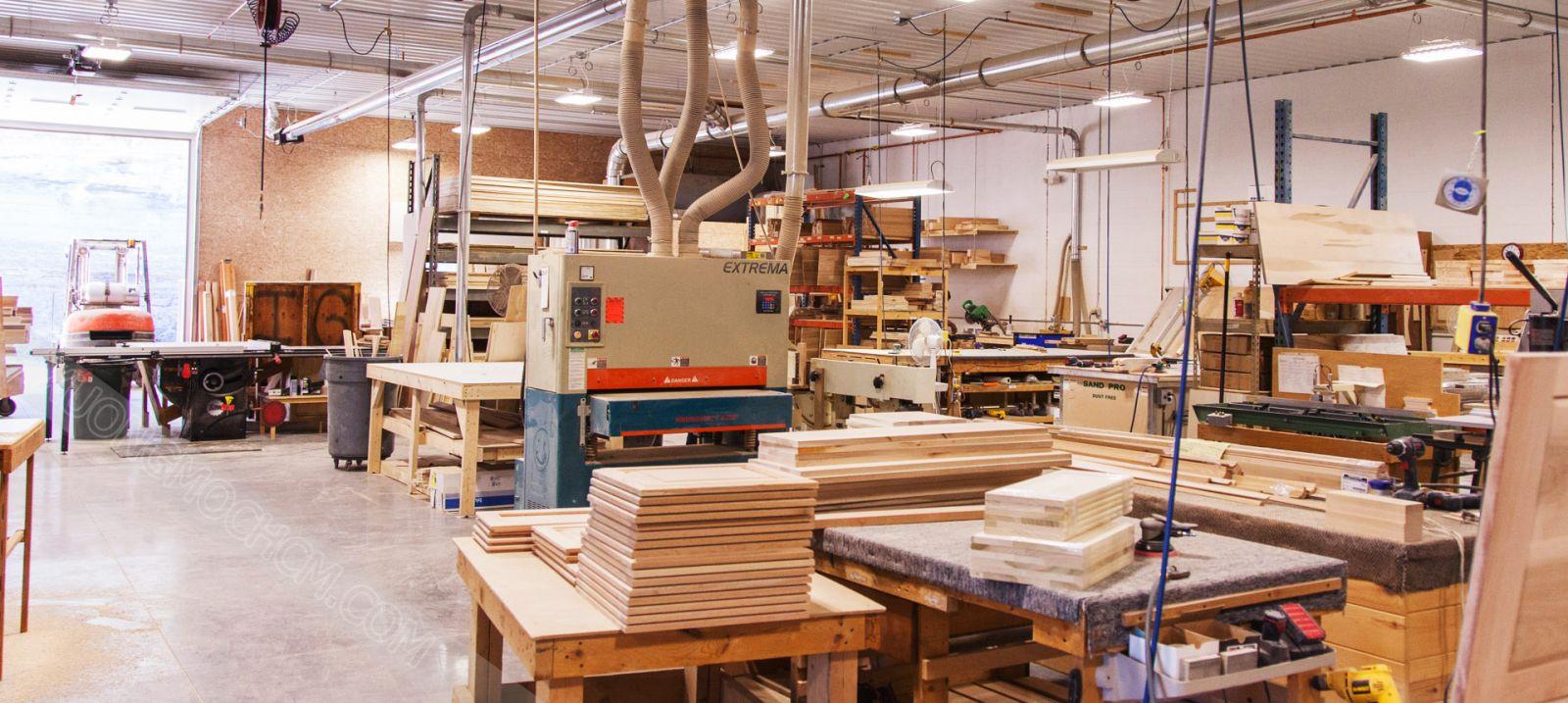 Furniture workshop image