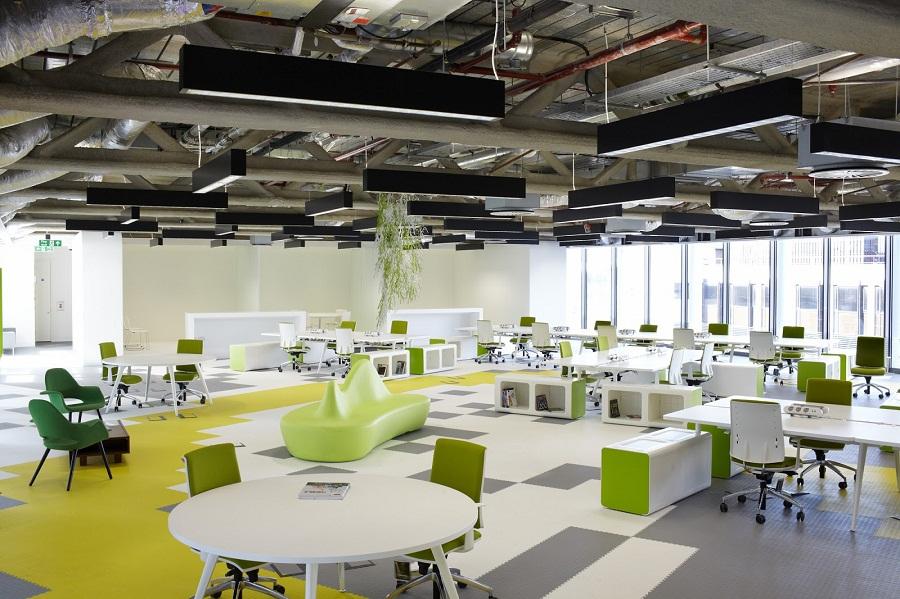 Thi công hoàn thiện nội thất văn phòng tầng 4,8,12 tòa nhà  PVG Tower