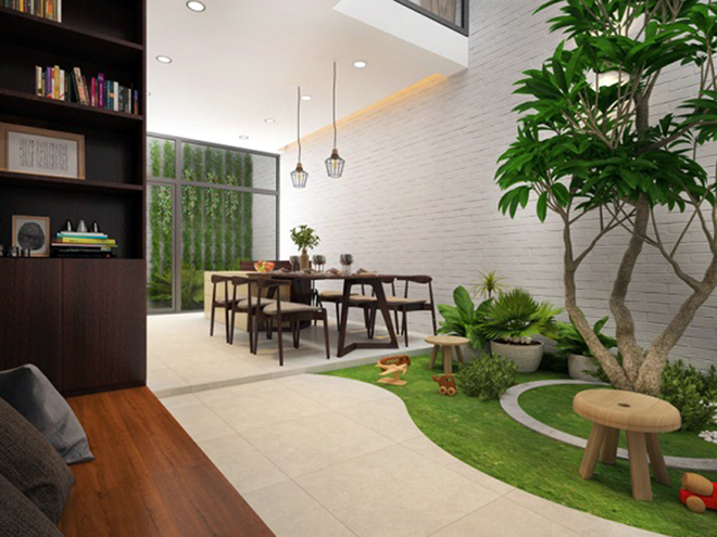 Interior Construction Of Ms. Tuyet's House, District 4, HCMC