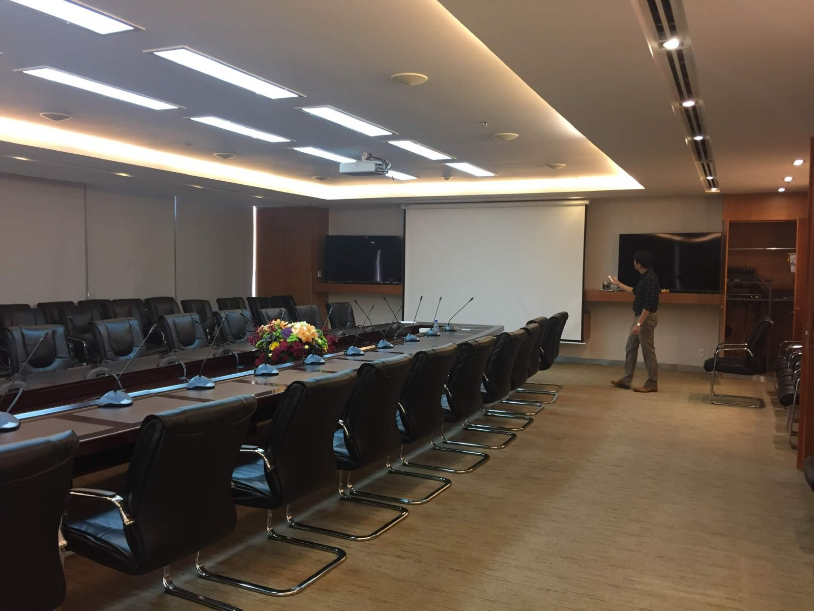Project meeting room of Viet Nam Oil and Gas Company